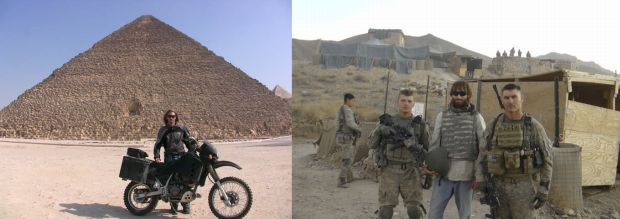 Matthew VanDyke in Egypt and Iraq