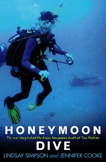 Cover Art for Honeymoon Dive.