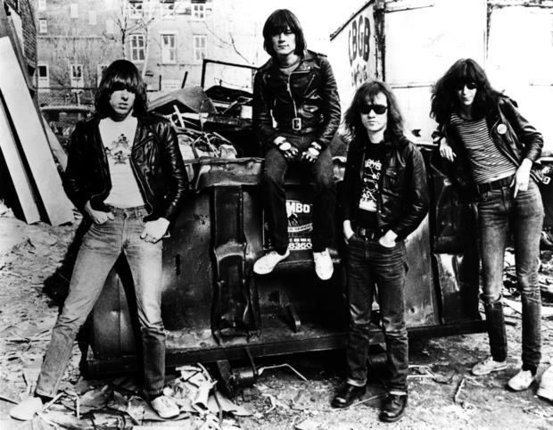 The Ramones at the dump