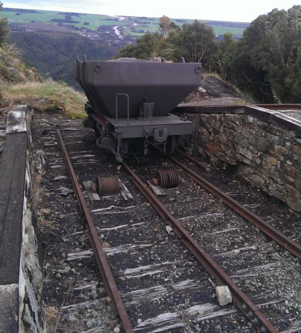 The old Denniston Mine RNZ Conan Young.