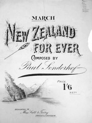 Sonderhof NZ For Ever title page