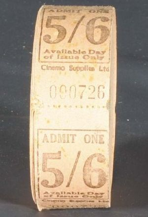 Ticket roll From South Canterbury Museum DNZ Share crop