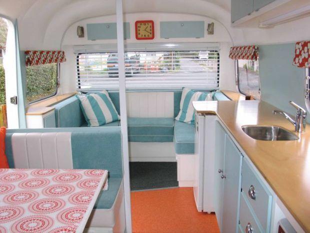 Restoring retro caravans Design caravan renovation ideas home