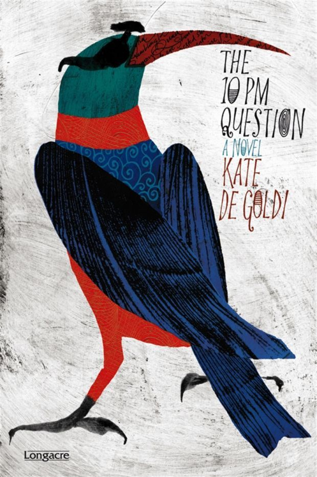 Book Covering Nz : The pm question by kate de goldi from not for children