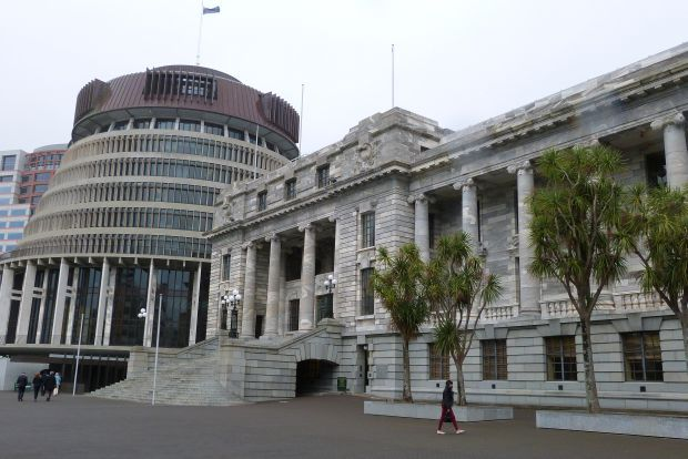beehive and parl rnz philippa Tolley