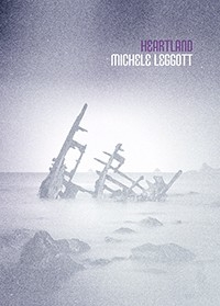 Michele Leggott Heartland book cover Auckland University Press