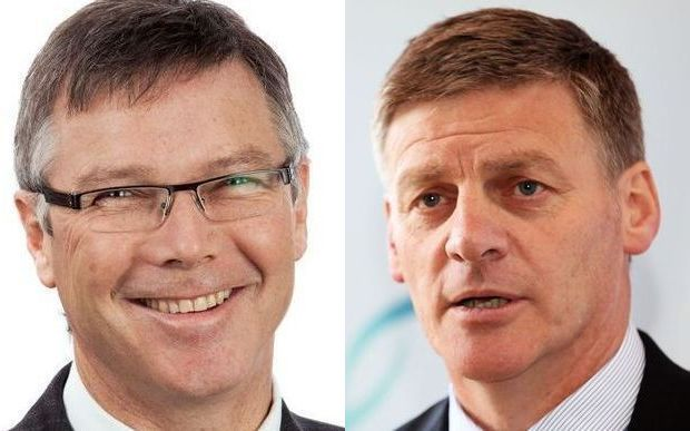 David Parker and Bill English RNZ