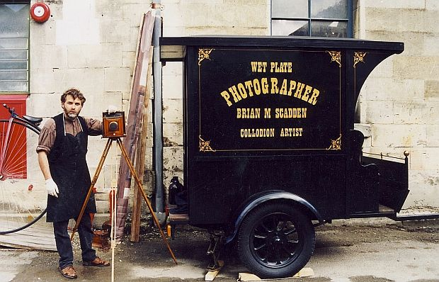 Wet plate collodion 8x10 kit new