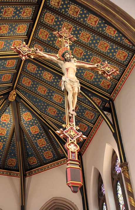 St Chad s Cathedral Birmingham Hanging Rood