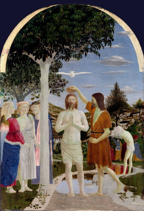 Baptism of Christ Piero della Francesca