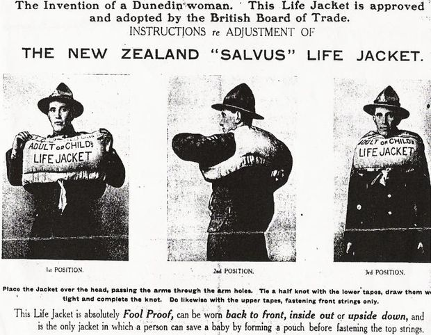 Lifesaver Instruction photograph modelled by Llewellyn Beaumont