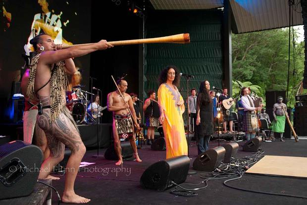 Moana and the Tribe at WOMAD by Michael Flynn