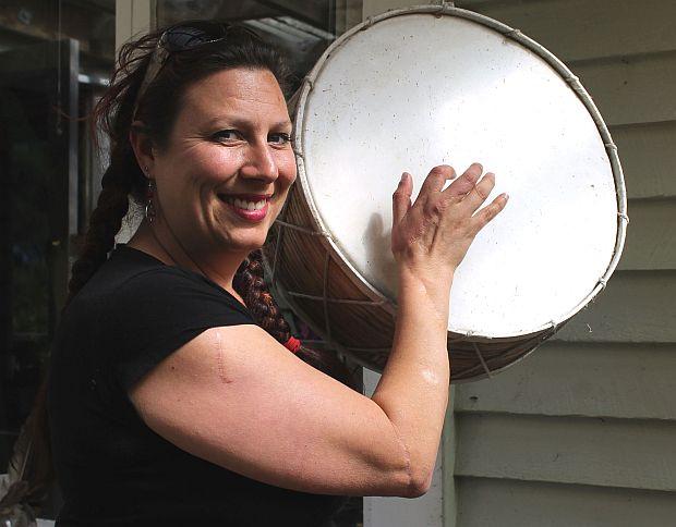 Simonne s old Shaman drum cRNZ