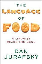 language of food book cover