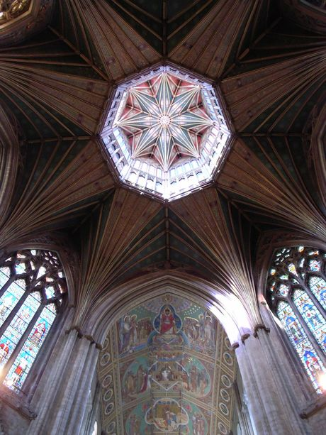 The Octagon in Ely Cathedral