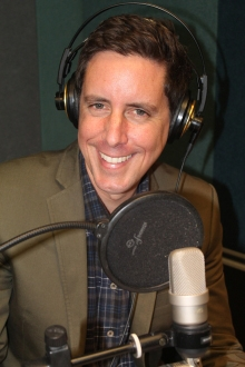 Wallace Chapman in studio