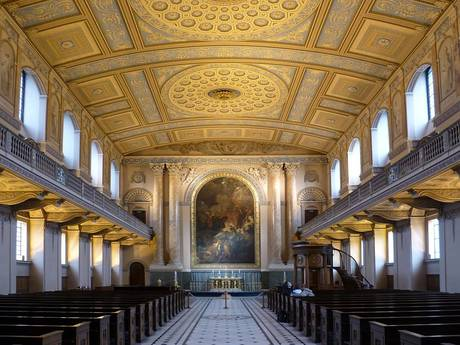 Royal Naval College Chapel Greenwich
