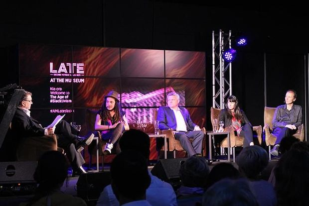LATE The Age of Slacktivism panel