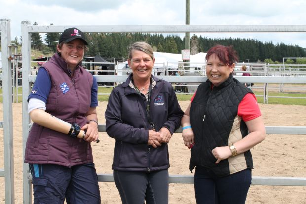 Jo Jackson, Manuela McLean and Nicola Essex at Equidays