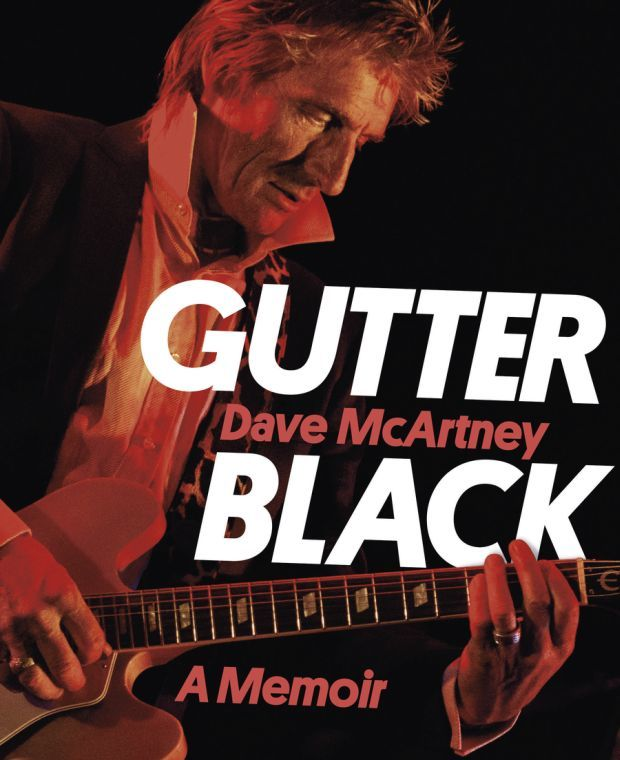 Gutter Black Dave McArtney book cover