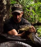Paul Rosolie with anaconda from Paul Rosolie
