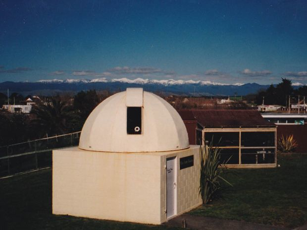 New Dome Nelson Bartlett Obs