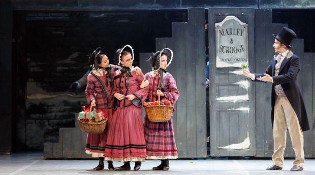 RNZB dancers in A Christmas Carol credit Evan Li