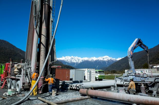 Alpine Fault drilling site at Whataroa