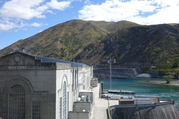 Waitaki Dam buildings