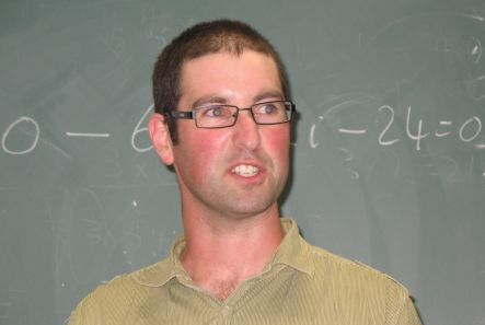 Physics Fight organiser Kent Hogan