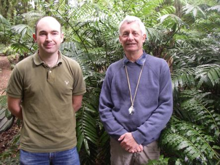 Te Papa botanists Leon Perrie and Patrick Brownsey