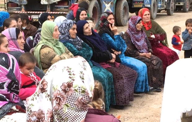 A women s assembly in the city Qamishlo