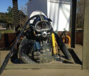 Commercial diving equipment
