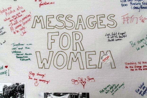 Messages for survivors at the safehouse