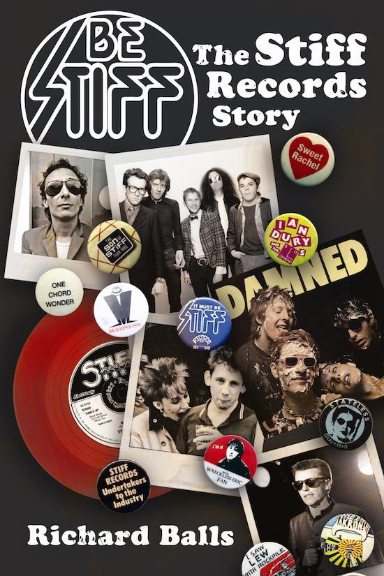 Be Stiff The Stiff Records Story book cover