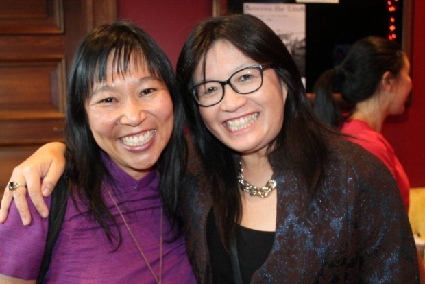 Playwright and Producer Renee Liang with AET Linda Lim Chinese New Year Festival
