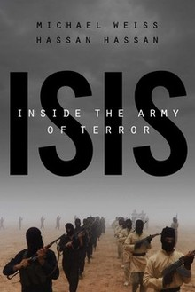 ISIS Inside the Army of Terror Hassan Hassan Michael Weiss book cover