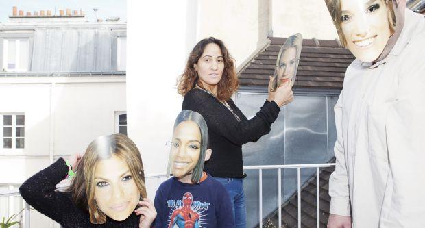 French actress Nathalie Karsenti