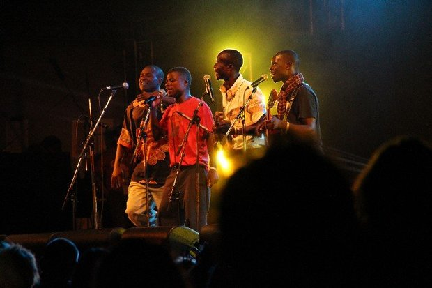 Malawi Mouse Boys on the Gable Stage at WOMAD