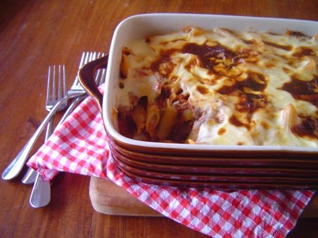 2648fa87ceb1 Beef Capsicum And Tomato Pasta Bake