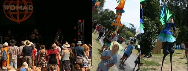 People at WOMAD