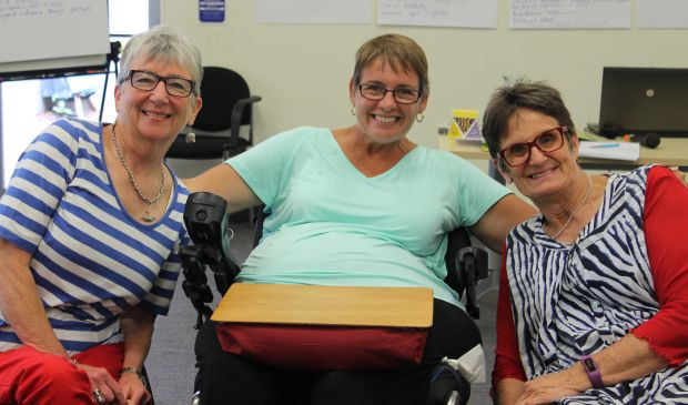 Keran Howe, Susan Salthouse and Sue Sherrard