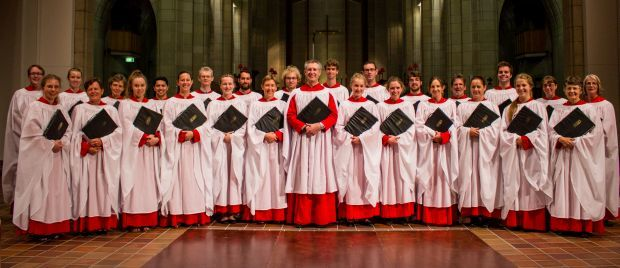 Holy Trinity Cathedral Easter choir Photo Anglican Diocese of Auckland