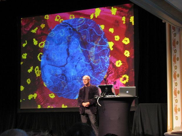 Brian Eno Talks About Generativity and Emergence at PopTech CC BY David Wiley via Flicker