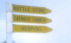 Roadside signs
