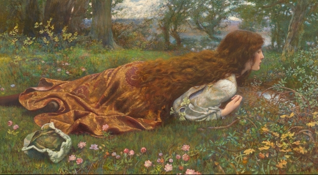 Edward Robert Hughes The princess out of school c National Gallery of Victoria Melbourne