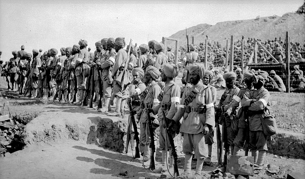 Indian Sikh soldiers Gallipoli Turkey