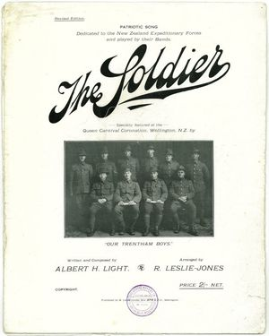 The Soldier sheet music