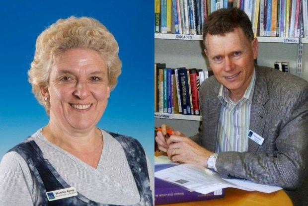 Wendie Ayley and Brian Ensor
