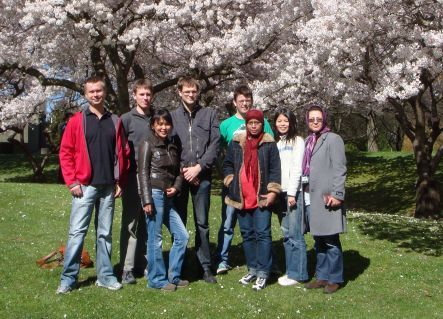 Vladimir Golovko and his team a the University of Canterbury campus